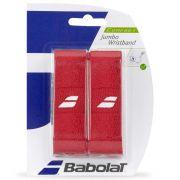 Munhequeira Babolat Jumbo Wristbond - Vermelha