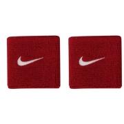 Munhequeira Nike Swoosh Pequena - Vermelho