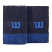 Munhequeira Wilson W Color Azul 2 Unidades