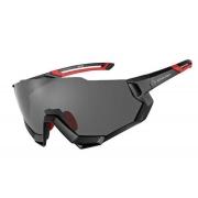 Óculos Ciclista Elleven - Preto/Vermelho