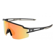 Óculos Ciclista Polarizado Color Rockbros - Preta/Cinza