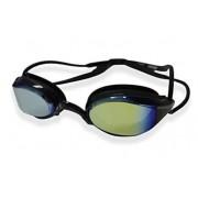 Óculos De Natação Hammerhead Aquatech Mirror - Preto Espelhado