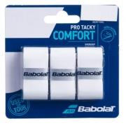 Overgrip Babolat Pro Tacky  X3 - Branco