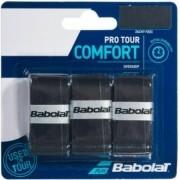 Overgrip Babolat Pro Tour Comfort X3 - Preto