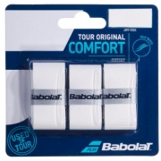 Overgrip Babolat Tour Original Comfort X3 - Branco