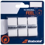 Overgrip Babolat VS Original Feel X3 - Branco