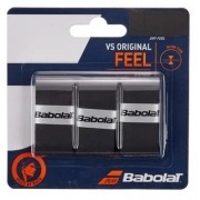 Overgrip Babolat VS Original Feel X3 - Preto