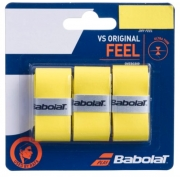 Overgrip Babolat VS Original  X3 - Amarelo