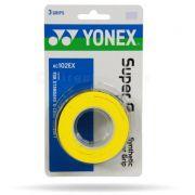 Overgrip Yonex Super Grap c/ 3 unidades - Amarelo