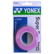 Overgrip Yonex Super Grap c/ 3 unidades - Rosa