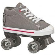 Patins Infantil Quad Roller Derby Zinger Boy F17 - Cinza