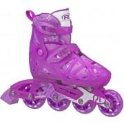 Patins Inline Roller Derby Tracer Girl Ajustável  Infantil
