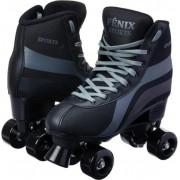 Patins Roller Skate Fenix  Preto