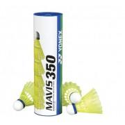 Peteca de Bedminton Nylon Mavis 350 C/6 Unidades