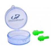 Protetor de Ouvido Hammerhead Silicone Ear Plugs II - Verde