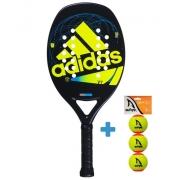 Raquete de Beach tennis Adidas ADI BT V7  - Verde + Brinde 3 Bolas