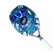 Raquete de Beach Tennis Vision Power Kevlar 2020 - Azul