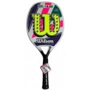 Raquete de Beach Tennis Wilson 18.20 - Roxo/Amarelo