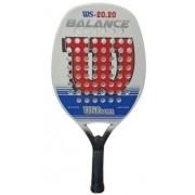 Raquete de Beach Tennis Wilson 20.20 - Branco/Azul