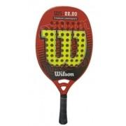 Raquete de Beach Tennis Wilson 22.20 - Vermelho/Amarelo