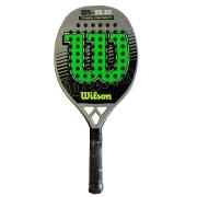 Raquete de Beach Tennis Wilson Sunset - Cinza/Verde