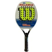 Raquete de Beach Tennis Wilson WS 20.20 Balance - Branca