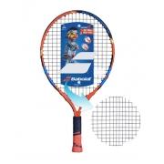 Raquete de Tenis Babolat Ballfighter 19 Preto/Laranja - Encordoada