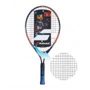 Raquete de Tenis Babolat Ballfighter 23 Preto/Laranja - Encordoada