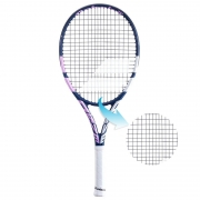 Raquete de Tênis Babolat Drive Junior 25 - Feminina Encordoada