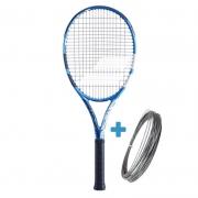 Raquete de Tênis Babolat EVO Drive Tour - Azul/Branco