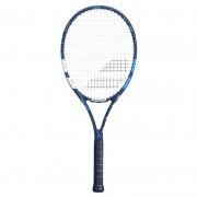 Raquete de Tênis Babolat Evoke 105 Preto/Azul - Encordoada
