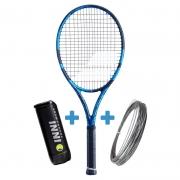 Raquete de Tênis Babolat Pure Drive 2021 + Brinde Bola e Corda