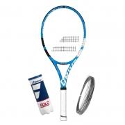 Raquete de Tênis Babolat Pure Drive Super Lite + Bola e Corda