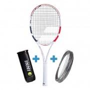 Raquete de Tênis Babolat Pure Strike 16x19 New 2020 + Corda e Bola de Brinde