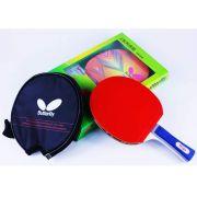 Raquete de Tenis de Mesa Butterfly  TBC 201 Yuki  + Raqueteira