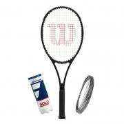 Raquete de Tenis Wilson Pro Staff 97L V13 + Corda e Bola
