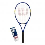 Raquete de Tênis Wilson US Open + Tubo de Bola Babolat