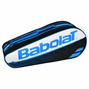 Raqueteira Babolat Holder X6 Club - Preto e Azul
