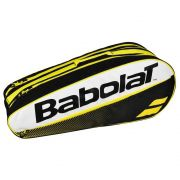 Raqueteira Babolat Racket Holder  X6 Club - Preto e Amarelo