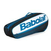Raqueteira Babolat Racket Holder X6 Club - Preto e Azul