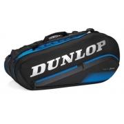 Raqueteira Dunlop FX Performance X8 - Preto/Azul