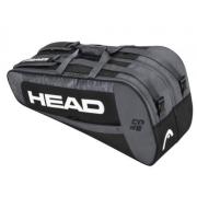 Raqueteira Head Core 6X Combi - Preto