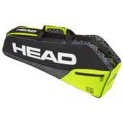 Raqueteira Head  Core Pro 3R -  Preto e Amarelo