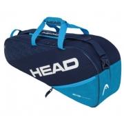 Raqueteira Head Elite Combi X6 - Azul