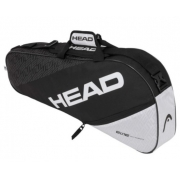 Raqueteira Head Elite Pro X3 - Branco/Preto