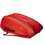 Raqueteira Wilson Federer Dna - Vermelha