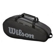 Raqueteira Wilson Tour 2 Comp X6 - Preto/Cinza
