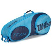Raqueteira Wilson x 6 Team Azul