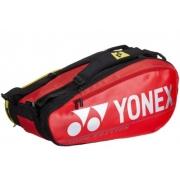 Raqueteira Yonex Pro X9 - Vermelha/Preto