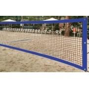 Rede de Beach Tennis  Master Rede  - Fio 1,5mm - Seda - RT-BT - Azul